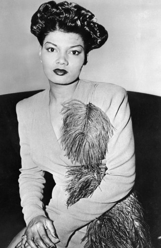 Pearl Bailey Shown Seated