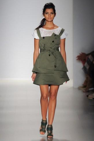 DoubleBreasted Dress Short