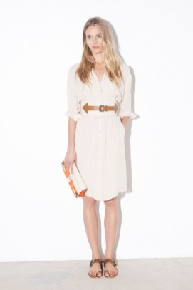 Tomas_Maier_Shirt Dress_Oversized Belt