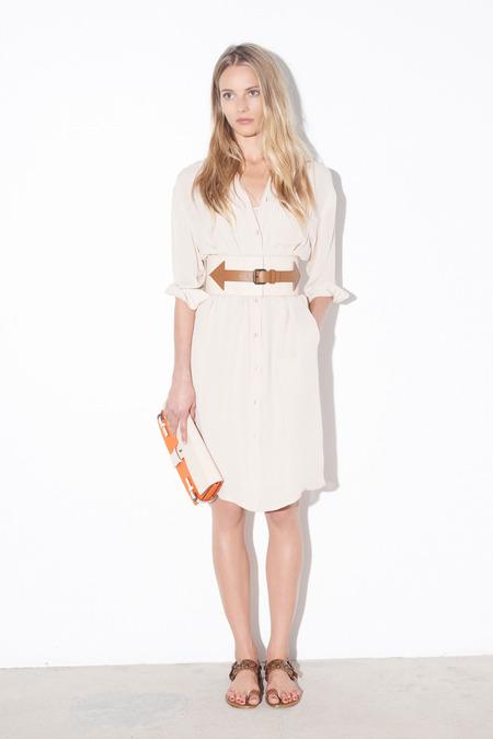 Tomas_Maier_Shirt Dress_Oversized Belt