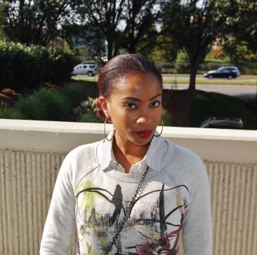 Yana B. StyleStamped Proenza Schouler Graphic Sweatshirt Neiman Marcus Target