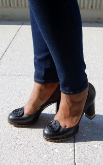 Tory Burch Lug Sole Pumps