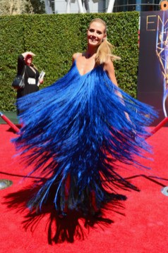 Heidi Klum at the 2014 Emmy Awards in Sean Kelly