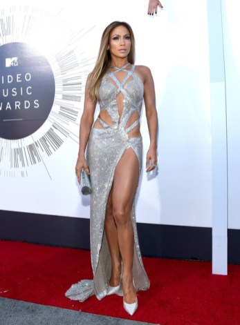 JLo at 2014 MTV Awards in Charbel Zoe Photo: Larry Busacca/Getty