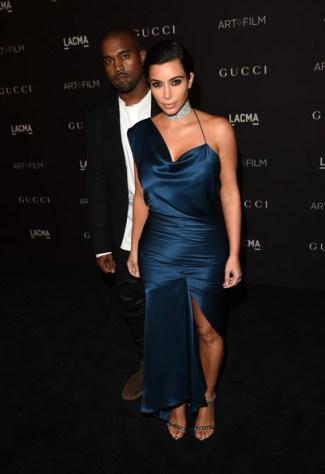 Kim at 2014 LACMA Gala in Cushine Et Ochs Photo: Jason Merritt/Getty