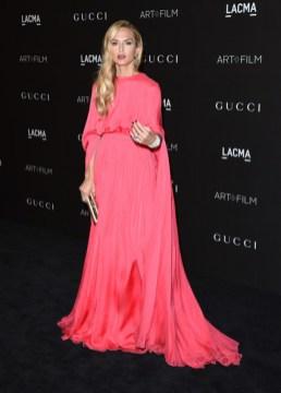 Rachel Zoe at the 2014 LACMA Art Film Gala in Valentino