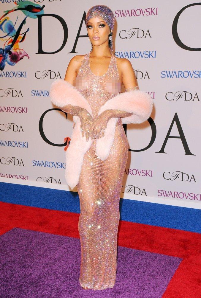 Rihanna 2014 CFDA Fashion Awards Photo: Getty Images