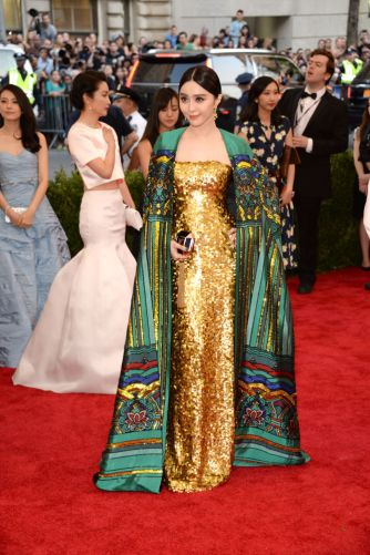 Fan BingBing in Christopher Bu Photo: Getty Images