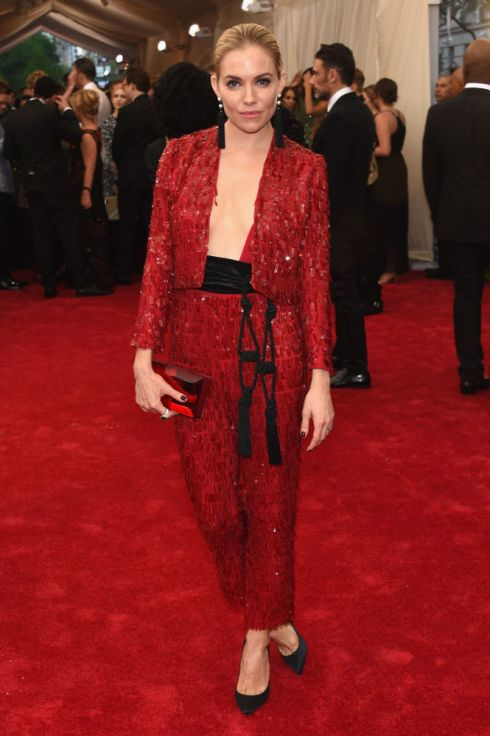 Sienna Miller in Thakoon Photo: Getty Images