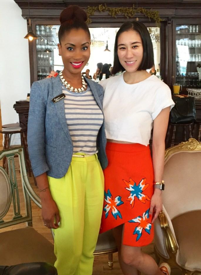 Yana B and Eva Chen