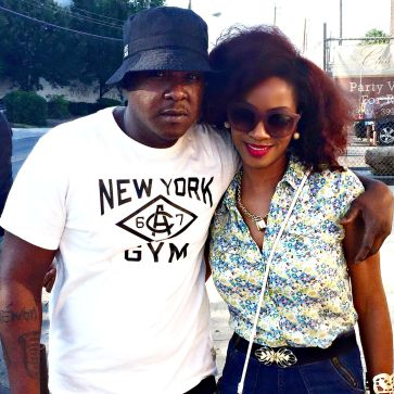 Jadakiss and Yana B.
