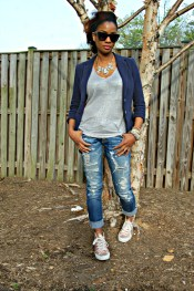 Yana B. Style Stamped Weekend Style 1