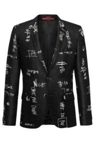 BOSS Scribble Sports Coat