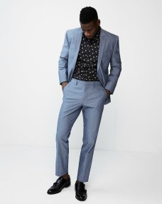 Express Chambray Suit