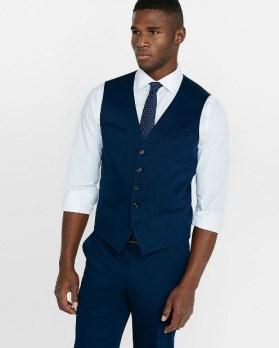Express Navy Blue Vest