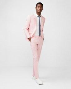 Express Pink Cotton Suit