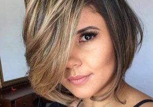 Beautiful Short Hair Highlights for Modern Girls In 2020