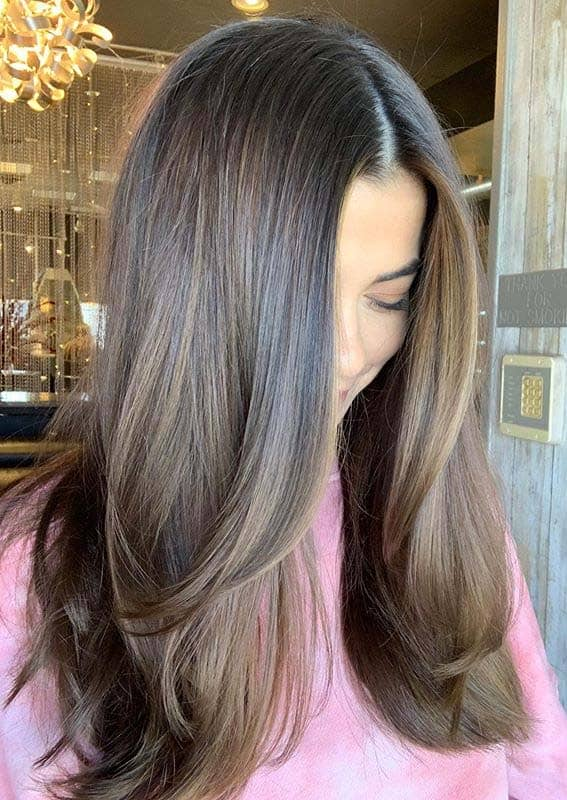 Classic dimensional brunette hair color shades for Women 2020