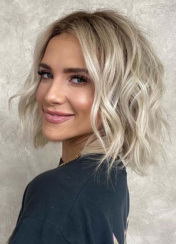 Stunning Wavy Bob Haircuts to Follow on Special Occasions in 2020