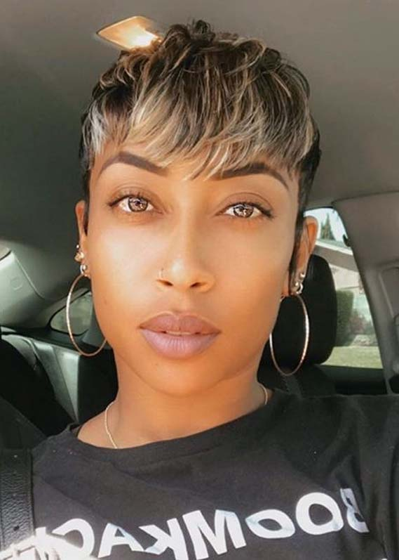 Short Pixie Haircuts with Bangs for Women in 2020