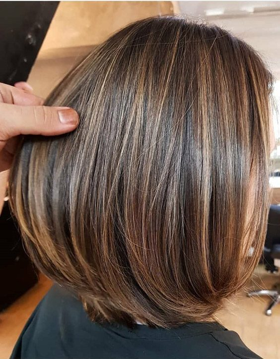 Awesome Golden Brown Short Hair With Highlights For 2020