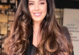 Amazing Style of Brown Hair Color for Long Hair