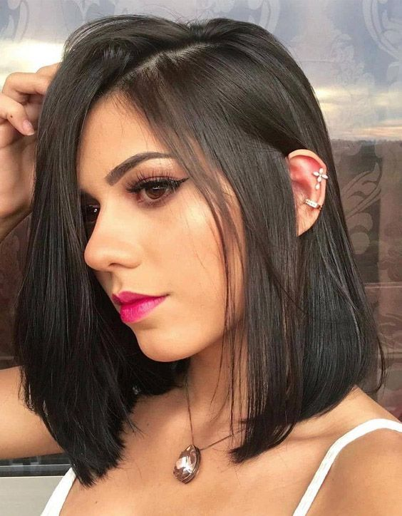 Delightful Style of Medium Length Haircuts for 2020 Girls