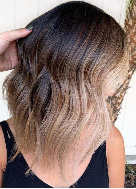 Seamless Blends Of Balayage Hair Colors for Ladies in 2020