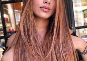 Beautiful rose balayage Hair Color Ideas