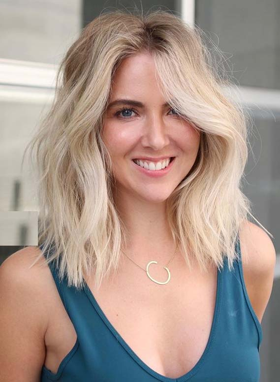Face Framing Medium Blonde Haircuts for Women in 2020
