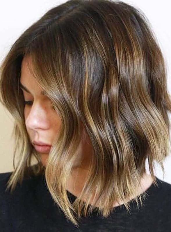 Light Brown Hair Color Trends for Short Hair