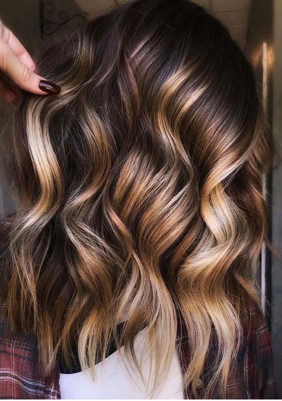 Cinnamon Creme brunette Hair Color Shades