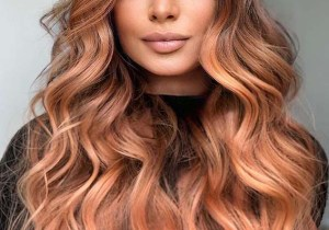 Awesome Peach Rose Hair Color Shades to Follow