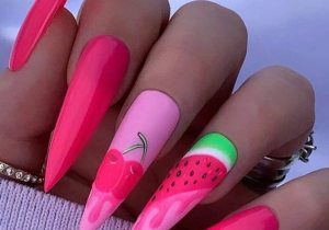 Awesome Style of Stiletto Nails to wear Now