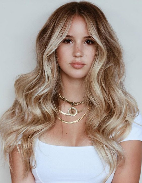 Charming Balayage Highlights & Hair Color for 2021