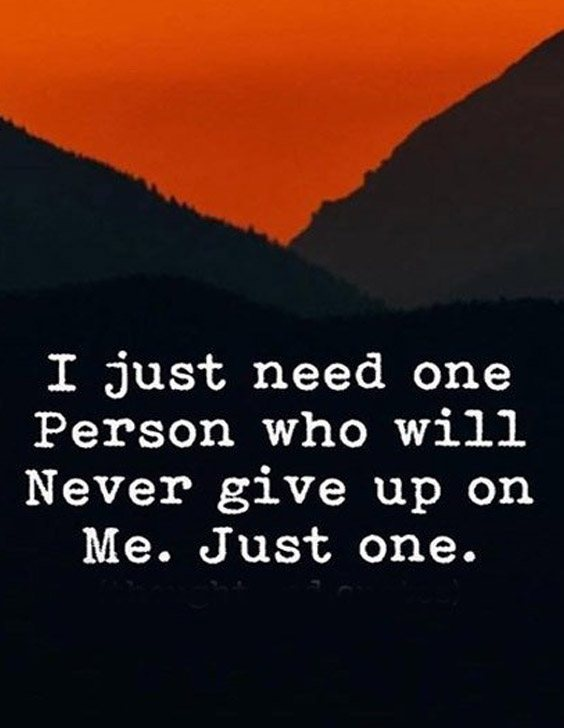 Never Give up on Me - Inspiring Quotes for Everyone