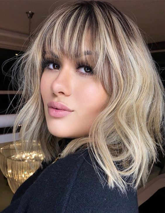 Best Medium Haircut & Hair Color for Unique Look