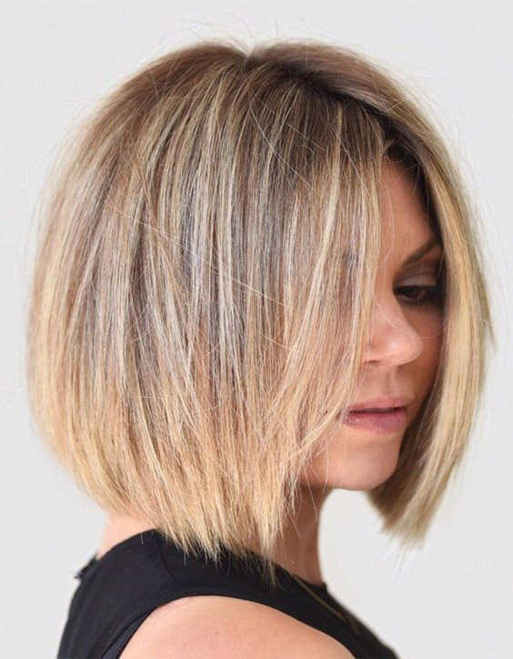 Soft Blunt Short Bob Haircut to wear Now