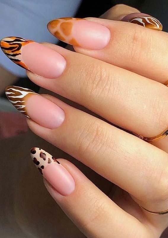 Fresh leopard Nail Art Designs to Follow