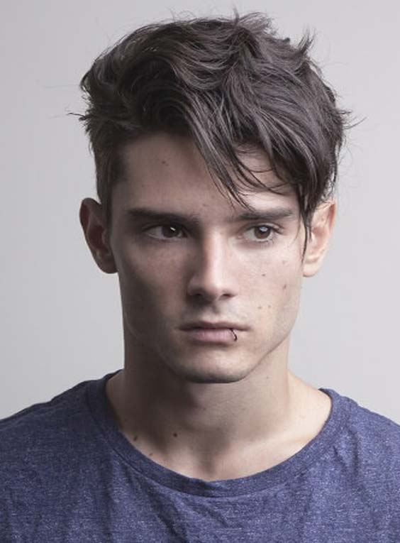 Textured and Layered Men Hairstyles