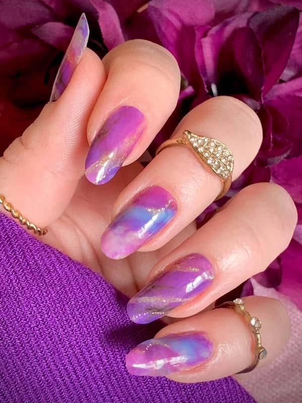 Colored Nail Arts and Designs