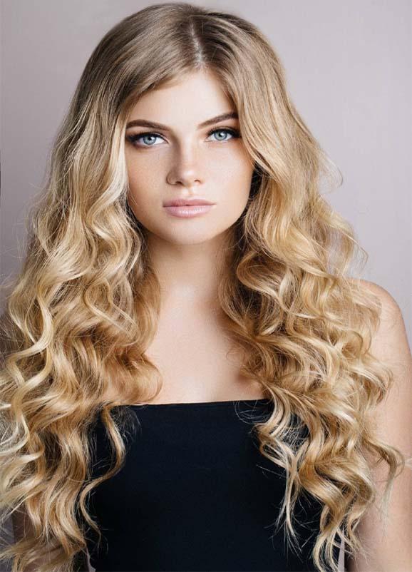 Dye the Long Curls