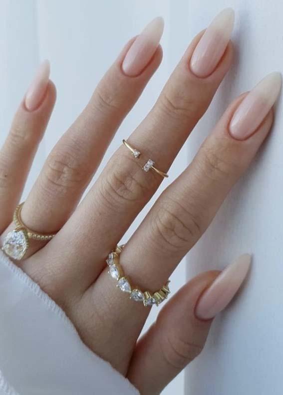 Fresh Wedding Nails Designs for Brides