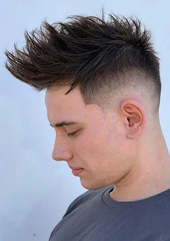 Spiky Men's Latest Hairstyles