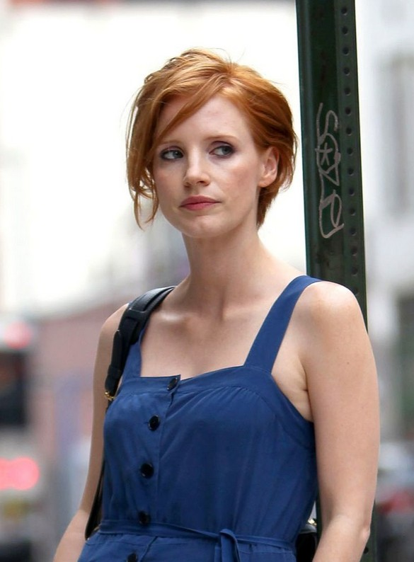 Jessica Chastain Hairstyles Celebrity Latest Hairstyles 2016