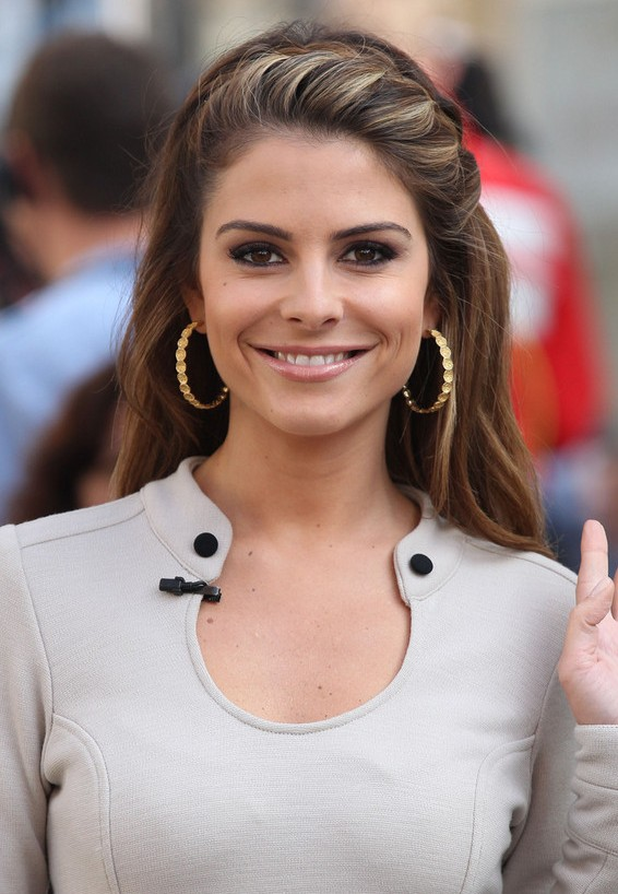 Maria Menounos Pretty French Braid For Spring Styles Weekly