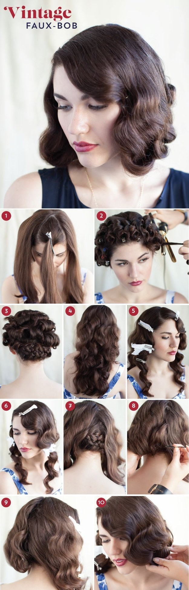 32 vintage hairstyle tutorials you should not miss | styles