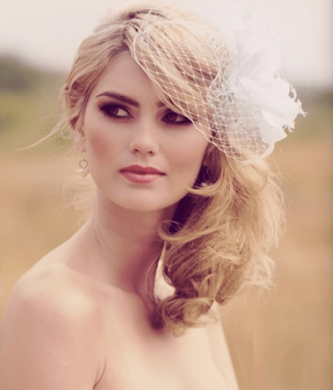 Lovely Bridal Makeup Look