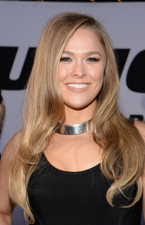 Ronda Rousey Sweet Long Curls