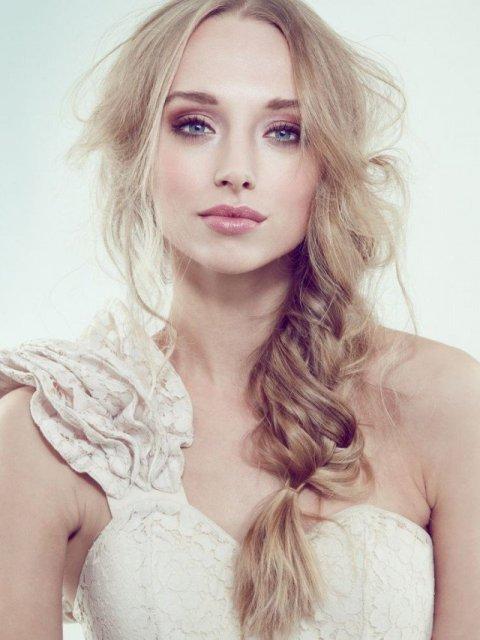 Light Makeup Look for Brides